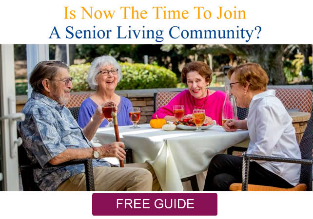 Free Guide - Is now the time to join a senior living community?