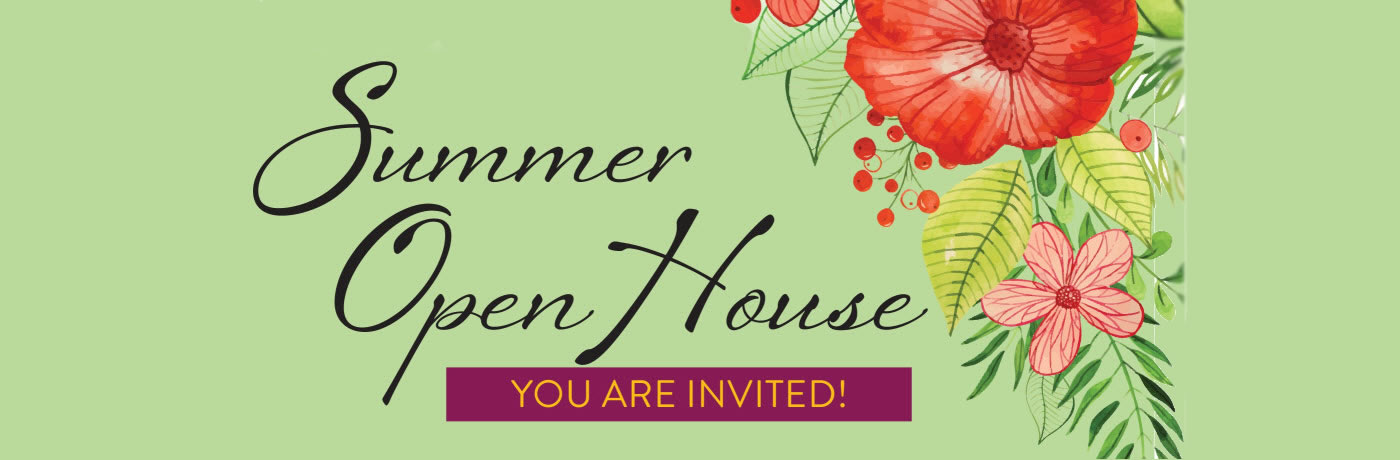 Summer Open House at O'Connor Woods
