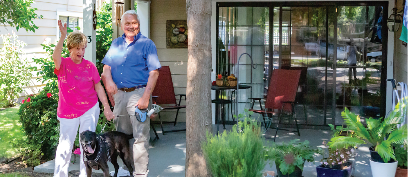 Discover your new lifestyle at O'Connor Woods Senior Living