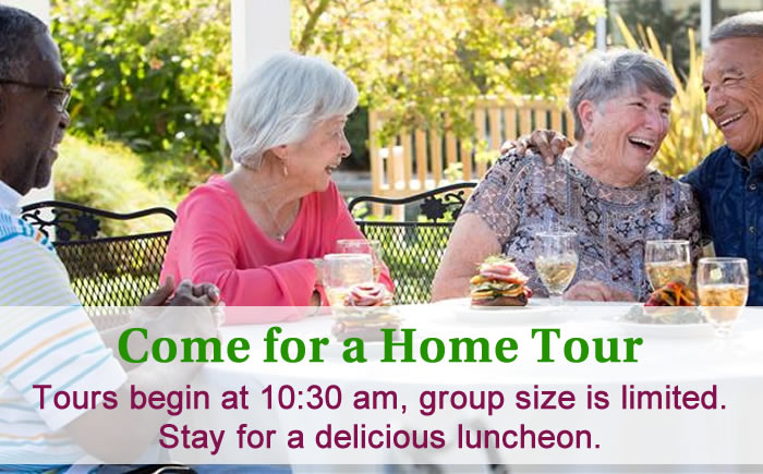 Come for a VIP Home Tour at O'Connor Woods Senior Living Community