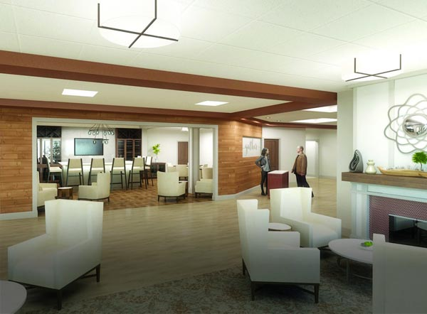 new lounge rendering
